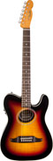 Fender Teleacoustic Premier Flame Maple Top 3 Colour Sunburst with Fishman Mini USB