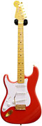 Fender Custom Shop 56 Strat NOS Fiesta Red Gold Hardware AA Birdseye LH #R74817