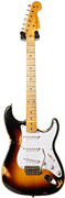 Fender Custom Shop 60th Anniversary 1954 Heavy Relic Strat 2 Tone Sunburst #XN1475