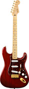 Fender Deluxe Players Strat MN Crimson Red Transparent