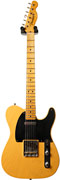 Fender Custom Shop Nocaster Relic Butterscotch Blonde Slim Neck #R13884