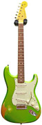 Fender Custom Shop Heavy Relic 62 Strat Lime Green Metallic #R77081