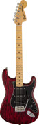 Fender FSR Sandblasted Ash Strat MN Crimson Red Transparent