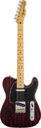 Fender FSR Sandblasted Ash Tele MN Crimson Red Transparent
