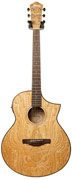 Ibanez AEW40AS-NT Figured Ash Natural (2015) (Ex-Demo) #S160600871