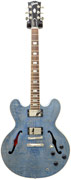Gibson ES-335 Figured Top Indigo Blue Ltd Ed (Ex-Demo) #10125741