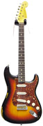 Fender Custom Shop 1963 Strat Heavy Relic 3 Tone Sunburst Tortoise Shell Pickguard #R80215
