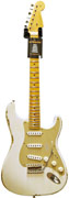 Fender Custom Shop 1956 Mid Boost Strat Heavy Relic White Blonde Anodised Guard #R81988