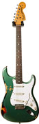 Fender Custom Shop 69 Strat Heavy Relic Sherwood Green over 3 Tone #R76948