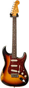 Fender Custom Shop 1963 Strat Heavy Relic Faded 3 Tone Sunburst Master Built by Jason Smith
