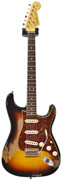 Fender Custom Shop 1963 Strat Heavy Relic Faded 3 Tone Sunburst Master Built by Dennis Galuszka #R82022