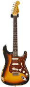 Fender Custom Shop 1963 Strat Heavy Relic Faded 3 Tone Sunburst Master Built by Gregg Fessler #R83508