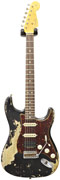 Fender Custom Shop Master Built 63 Ultra Heavy Relic Strat Black #R82537