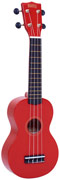 Mahalo Ukulele Rainbow MR1 Red