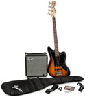Squier Start Playing Jaguar Bass Special SS Pack With Rumble 15 Amp