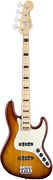 Fender American Elite Jazz Bass Ash MN Tobacco Sunburst