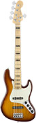 Fender American Elite Jazz Bass V Ash MN Tobacco Sunburst