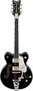 Gretsch G6139T-CBDCSL White Falcon Center Block with Bigsby Double Cutaway Ebony Fingerboard Black