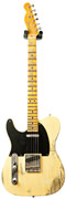 Fender Custom Shop 1951 Heavy Relic Telecaster Faded Nocaster Blonde LH #R13982