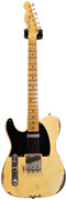 Fender Custom Shop 1951 Heavy Relic Telecaster Faded Nocaster Blonde LH #R13563