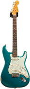 Fender Custom Shop 2016 Limited 1964 Strat Relic Faded Ocean Turquoise Metallic #CZ527179