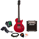 Epiphone Les Paul Special VE CHV with Marshall MG10CF Package