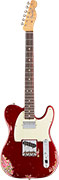 Fender Custom Shop Limited HS Telecaster Aged Candy Apple Red over Pink Paisley