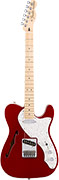 Fender Deluxe Tele Thinline MN Candy Apple Red