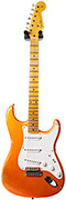 Fender Custom Shop 1955 Strat Heavy Relic Faded Candy Tangerine MN #CZ525008