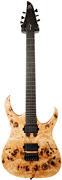 Mayones Duvell 6 Elite Trans Natural Satine Eye Poplar Top Mahogany Body Seymour Duncan Sentient/ Nazgul Set #DF61610760