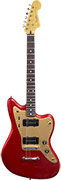Squier Deluxe Jazzmaster Candy Apple Red Stop-Tail