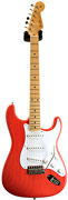 Fender Custom Shop 50's Strat NOS Trans Fiesta Red AA Flame MN Master Builder Designed by Dale Wilson #CZ526560