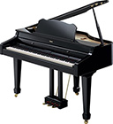 Roland RG-3 Digital Baby Grand Piano Polished Ebony