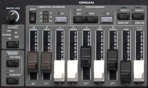 organ drawbars