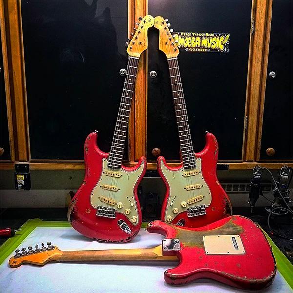 Left Handed Stratocaster Wiring