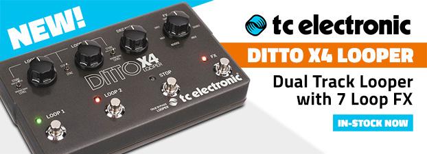 tc electronic ditto x4 looper manual