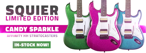 Squier Affinity Sparkle HH Stratocasters