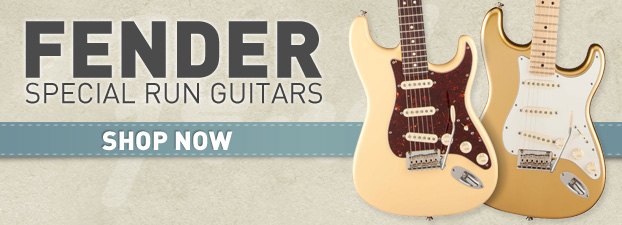 Fender Special Run Guitars