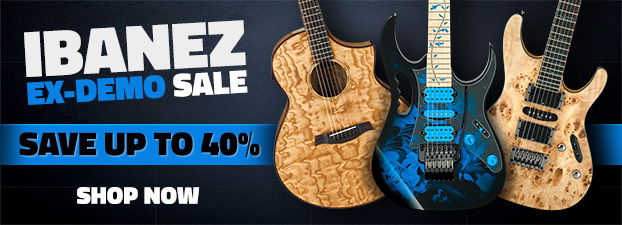 Ibanez Ex-Demo Sale