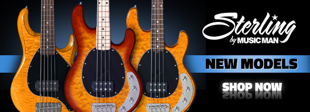 New Sterling by MusicMan Basses
