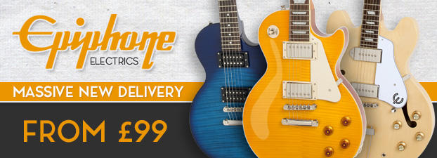 Epiphone Electrics Fresh Delivery