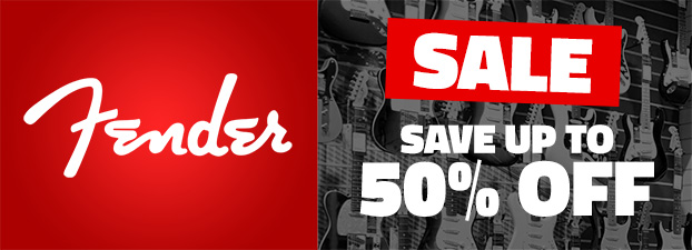 Fender Sale Save Up To 50%