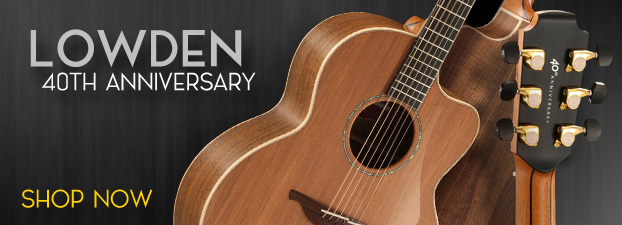Lowden 40th Anniversary Guitars