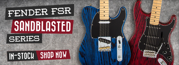 Fender Sandblasted FSR Series