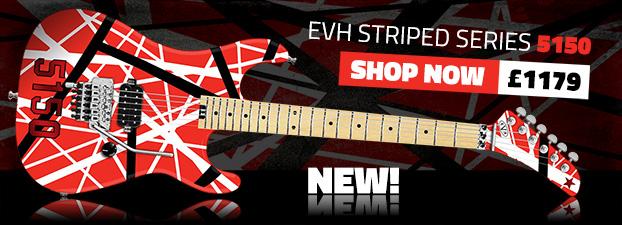 Van Halen Striped Guitar