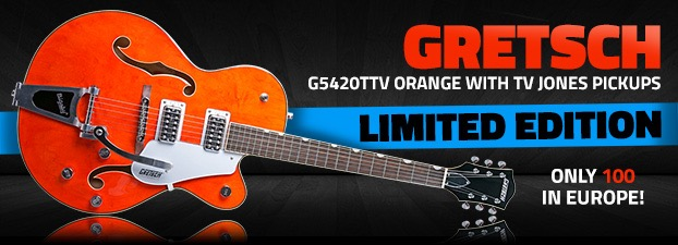 Gretsch G5420TTV with TV Jones Limited Edition