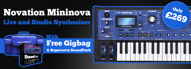 Novation Mininova - Free Soundpack and Gigbag