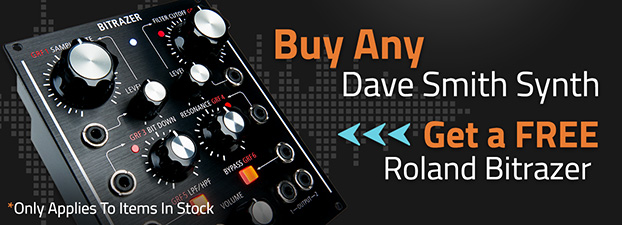 Dave Smith Instruments Synths with FREE Roland Bitrazer Module