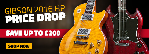 Gibson 2016HP PRICE DROP Save Up To �200