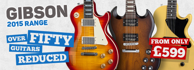 Gibson Sale - Massive Price Reductions